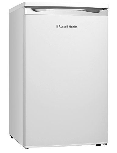 Russell Hobbs RHUCFZ3W White Under Counter 50cm Wide Freestanding Freezer,...