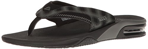 reef-mens-fanning-prints-sandal-black-plaid-11-m-us