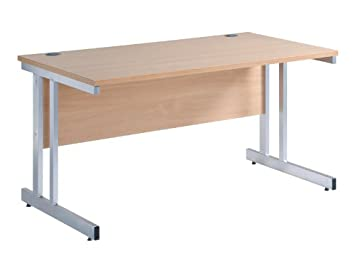 1600mm Cantilever Straight Desk - Length: 800 MM; Width: 1600 MM ...