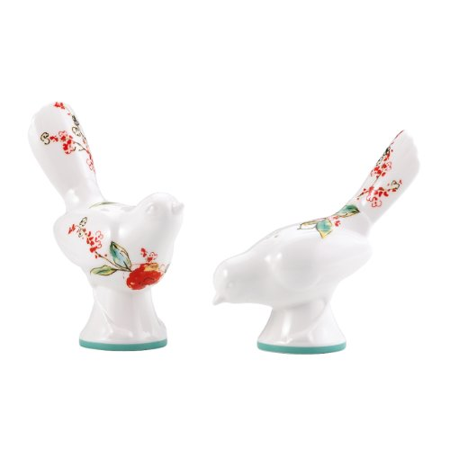 (Lenox Simply Fine Chirp Figural Salt and Pepper Shaker Set)