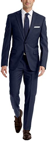Calvin Klein Mens X-fit Slim Fit High Performance Stretch Suit Separate Pant Suit Pants Separate