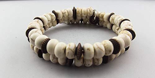 Wrap Bracelet - White Turquoise