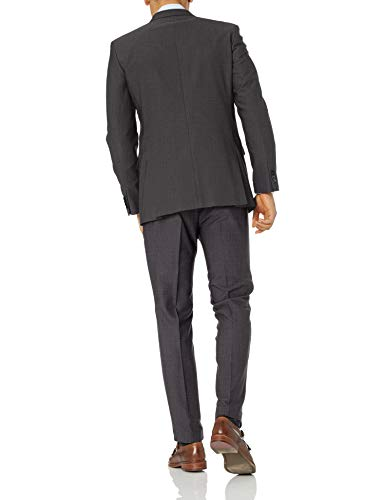 Kenneth Cole Unlisted Men's 2 Button Slim Fit Suit with Hemmed Pant