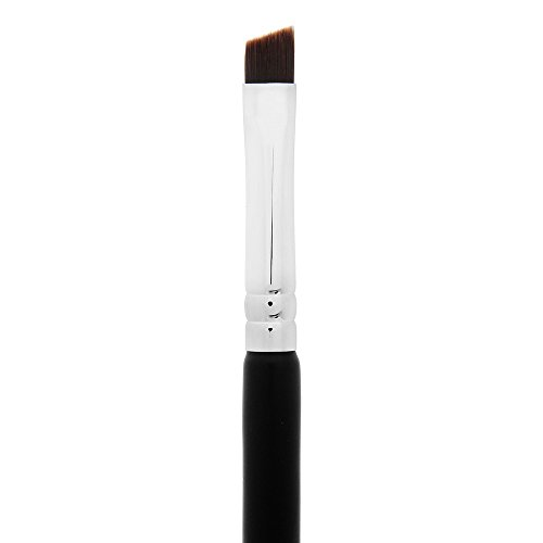 Eyeliner Brush: pro Precision Gel Eye Liner Makeup Brush with Thin Angled Bristle for Controlled Lash Liner Application; Premium Quality (Synthetic)