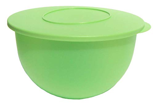 Tupperware Classic Impressions Nesting Mixing Bowl 18 Cups Kiwi Green