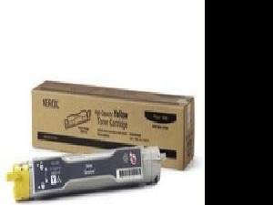 Xerox Yellow High Capacity Toner Cartridge Phaser 6350 Only 106R01146 - By
