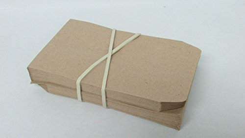 Extra Large 8 Inch White Big Postal Rubber Band - Pack of 30 Pieces by Yosogo (Image #3)