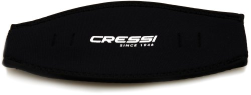 Cressi Neoprene Mask Strap Cover, black