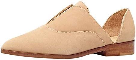 [해외]Aniywn Women Flat Shoes Leather Slip On Comfort Casual Pointed Toe Flats Breathable Non-Slip Office Dress Beige / Aniywn Women Flat Shoes Leather Slip On Comfort Casual Pointed Toe Flats Breathable Non-Slip Office Dress Beige
