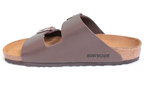 Arizona Nauwsluitend Dames (kurk-voetbed) Sandaal, Donkerbruin [nieuwe Stijl] (39 N Eu / 8-8.5 2a (n) Us)