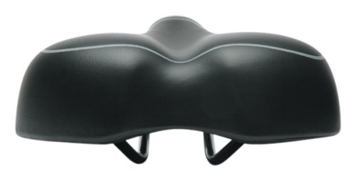 Serfas Womens E Gel Replacement Bicycle Saddle Black