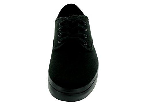 Vans U ZAPATO DEL BARCO VXC3NWD - Zapatos de tela para hombre Negro (Schwarz)