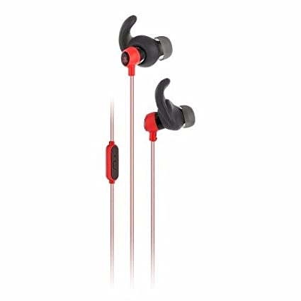 JBL Reflect Mini Intrauriculares Deportivos Resistentes al Sudor con Cable Altamente Reflectante, Mando de Control de 1 botón y micrófono,...