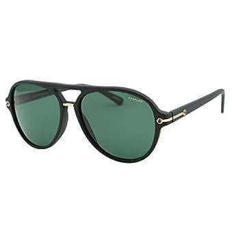 Chopard SUPERFAST SCH 193 703Z Men Black Polarized Racing Aviator Sunglasses