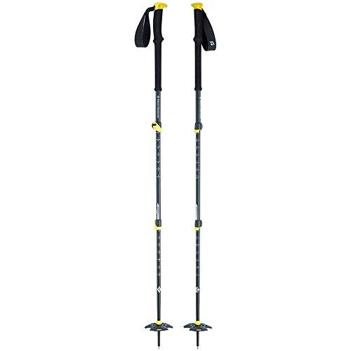 tion 3 Ski Poles, Blazing Yellow, 62-140cm (Black Diamond Expedition Poles)
