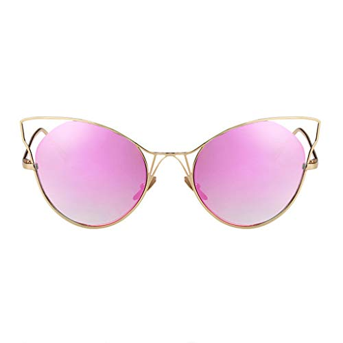 de soleil boîte A rétro Lunettes Des de Eye Cat Personality Couleur Sport lunettes New Tide Femme B Soleil Grande gEnf8PHq