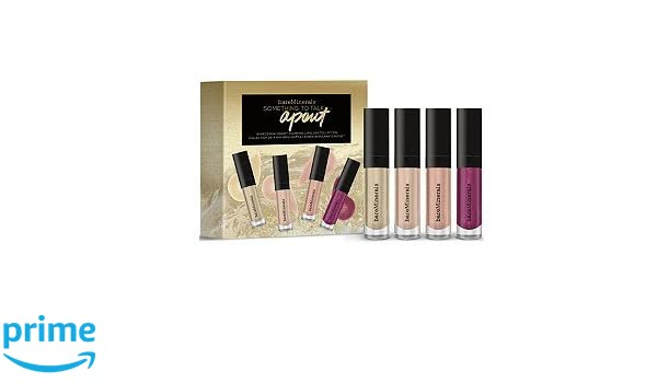 Something to Talk Apout 4-Piece Mini Moxie Plumping Lipgloss Collection by bareMinerals #20