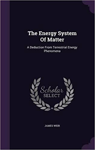 The Energy System of Matter A Deduction from Terrestrial Energy Phenomena