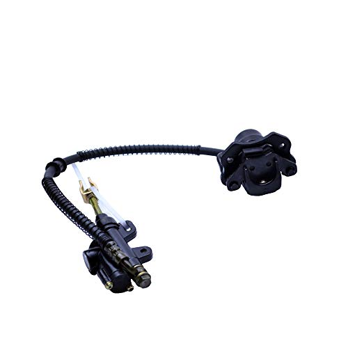 FLYPIG Rear Brake Master Cylinder Caliper Assembly for 50cc 70cc 90cc 110cc 125cc Chinese ATV Quad Scooter