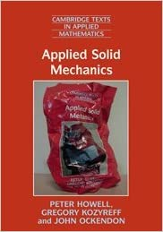 Book Applied Solid Mechanics (Cambridge Texts in Applied Mathematics)