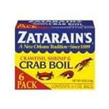 Zatarains Dry Crab Boil, 6 per pack -- 12 packs per case.