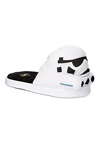 Bioworld Mens Star Wars Slippers Storm Trooper w165q63