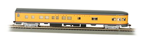 Bachmann Industries Union Pacific Smooth-Side Observation Car with Lighted Interior (HO Scale), 85'