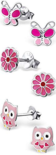 Set Stud Butterfly Earring (Best Wing Jewelry .925 Sterling Silver