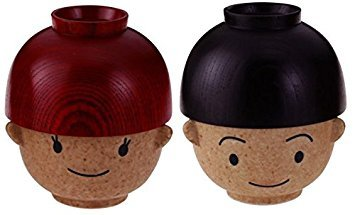 Boy Rice & Soup Bowls Set (Japan) by Sun - Sun Rice