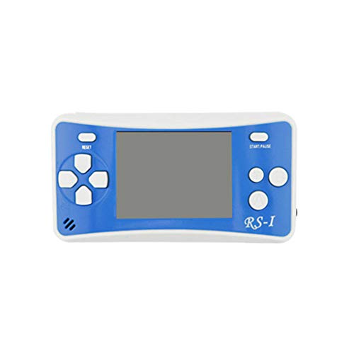 (Cywulin Retro Mini Handheld Video Game Player Console Gameboy Built-in 152 Classic Games Travel Portable Gaming System Electronics Machines 2.5 Inch Support TV Play Present for Boy Kids Adult (Blue))