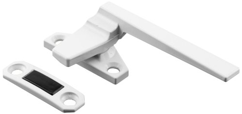 Prime-Line Products 171926-L Casement Locking Handle, Right Hand, Off-Set Base, White