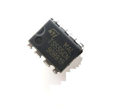 Bestol 10PCS TS555CN 555 DIP8 IC TIMER LOW POWER