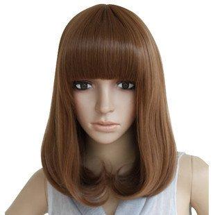 Amazon P Pear Head Wig Short Hair Repair Handsome Face Long