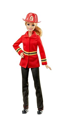Barbie Careers Firefighter Doll - Barbie And Ken Box Costume