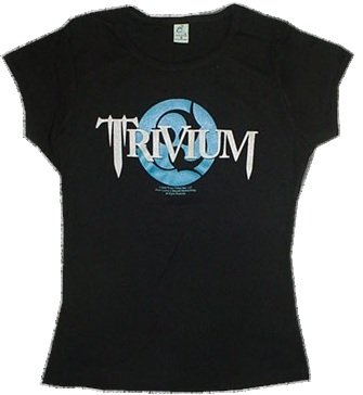 TRIVIUM - Logo - Black Women's / Girls Camisole (Girlie / Babydoll)