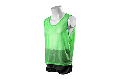 Kwik Goal Deluxe Scrimmage Vest, Lime, XX-Small by Kwik Goal