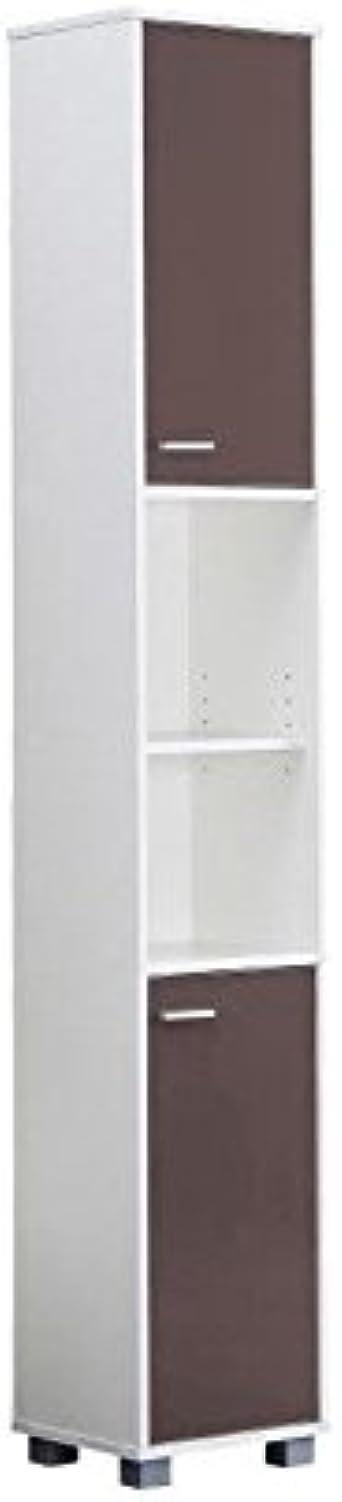 Mesa colonne salle de bain blanche et taupe: Amazon.fr ...