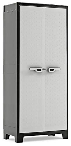 KIS Tall Outdoor Plastic Storage Cabinet