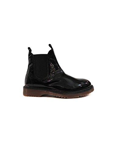 Erika Vernice Boots Nera Women's Fabiano qqw8g0TA