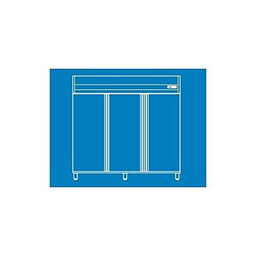 Armoire GN 2/1 positive 3 portes L2090 x P850 x H2070 mm -CORECO