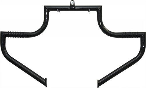LINDBY BL102-1/09 Gloss Black Front Linbar Highway Bar (Fits 1997-2016 Harley-Davidson Flh Touring Models) (Lindby Highway Bars)