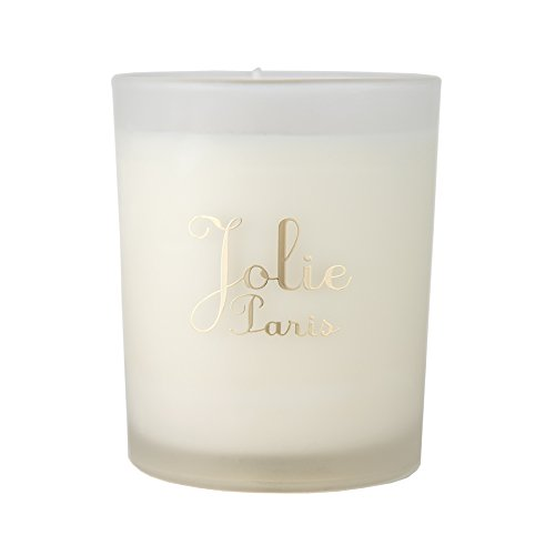 Jolie Sustainable Luxury Candle, désir (citrus, sage & teak) 6 Ounce Packaging may vary