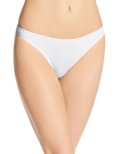 Cosabella Women's Talco Bikini Panty, White, Medium