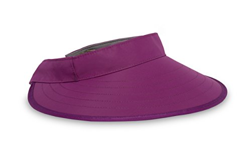 Sunday Afternoons Sport Visor Hat, Amethyst, One Size
