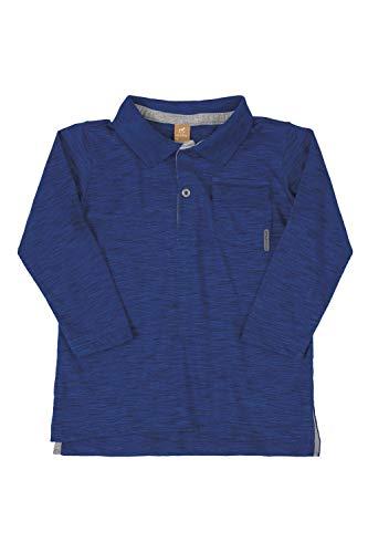 Camisa polo Polo Manga Longa Getblack, Up Baby, Meninos, Azul, 2