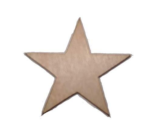 500-1.25 inch Mini Wood Stars - Laser Cut, Flag Making 1 1/4