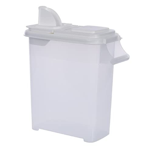 Large (Up to 22lb) Fresh Dry Dog u0026 Cat Food Plastic Storage Container With Flip Lid u0026 Pour Spout For Pet Food and Bird Seed BPA Free by Buddeez  sc 1 st  Amazon.com & Storage Bins for Bird Food: Amazon.com