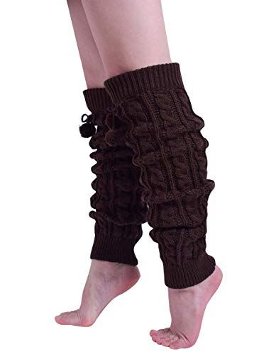 Nanxson Women Girl Super Long Cable Knit Leg Warmers in Your Choice of Colors TTW0002 (Best Nanxson Winter Boots)