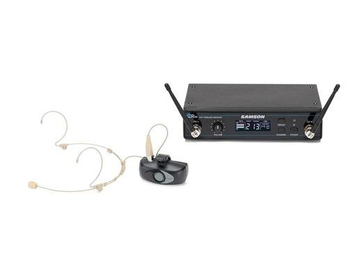 Samson Airline AHX Headset Micro Transmitter UHF Wireless Headset System (D Band) by Samson Technologies