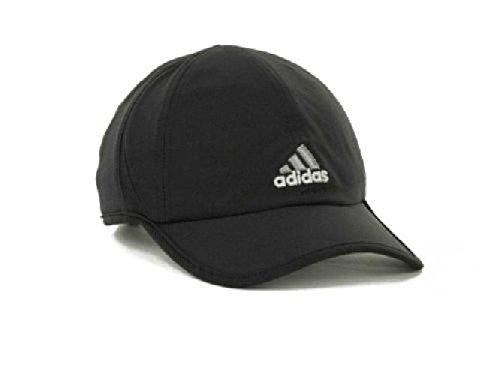 adidas Men s Adizero Stretch Cap (Black grey dbffb8902e1